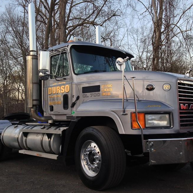 durso truck cab only in yard
